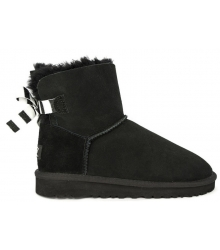 Ugg Australia (Угги Австралия) Mini Bailey Bow Black