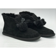 Ботинки зимние женские Ugg Australia (Угги Австралия) Mini замшевые Black