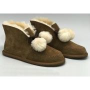 Ботинки зимние женские Ugg Australia (Угги Австралия) Mini замшевые Brown