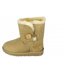 Ugg Australia (Угги Австралия) Short Bailey Beige Button