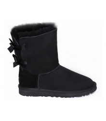 Ugg Australia (Угги Австралия) Short Bailey Bow Black