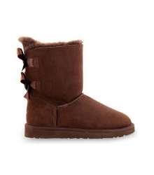 Ugg Australia (Угги Австралия) Short Bailey Bow Chocolate