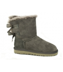 Ugg Australia (Угги Австралия) Short Bailey Bow Grey