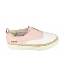 Слипоны Ugg Australia (Угги Австралия) White\Pink