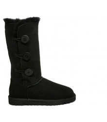 Ugg женские Australia (Угг Австралия) Bailey Button Triplet Black