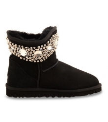 Ugg женские Australia (Угг Австралия) Jimmy Choo Crystals Black
