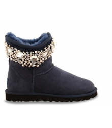 Ugg женские Australia (Угг Австралия) Jimmy Choo Crystals Blue