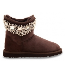 Ugg женские Australia (Угг Австралия) Jimmy Choo Crystals Brown