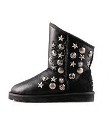 Ugg женские Australia (Угг Австралия) Jimmy Choo Starlit Black Leather