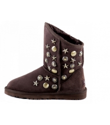 Ugg женские Australia (Угг Австралия) Jimmy Choo Starlit Dark Brown