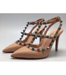 Женские туфли Valentino Biege Y