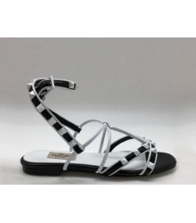 Женские сандалии Valentino Garavani (Валентино Гаравани) Free Rockstud кожаные Black