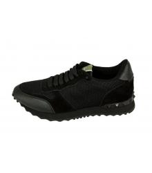 Мужские кроссовки Valentino (Валентино) Garavani Rockstud Black