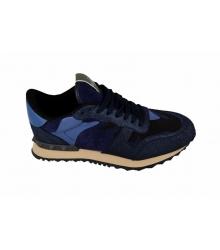 Женские кроссовки Valentino (Валентино) Garavani Rockstud Blue