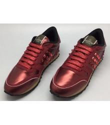 Женские кроссовки Valentino Garavani (Валентино Гаравани) Rockstud Red