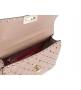 Женская роскошная сумка Valentino Garavani (Валентино Гаравани) Rockstud Spike кожаная через плечо Beige