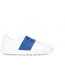 Кроссовки Valentino (Валентино) Garavani Rockstud White\Blue