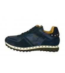 Мужские кроссовки Valentino Garavani (Валентино Гаравани) Soul Rockrunner Blue