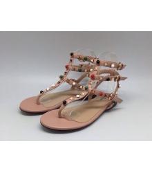 Женские сандалии Valentino (Валентино) Pink