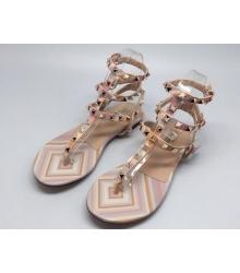 Сандалии Valentino (Валентино) Pink/White