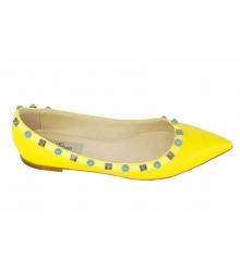 Балетки Valentino (Валентино) Yellow