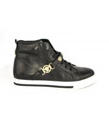 Осенние ботинки Versace (Версаче) Black