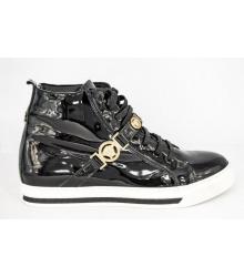 Осенние ботинки Versace (Версаче) Black Gold
