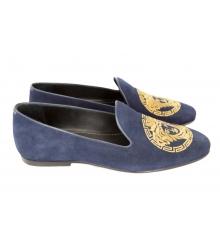 Лоферы Versace Blue L