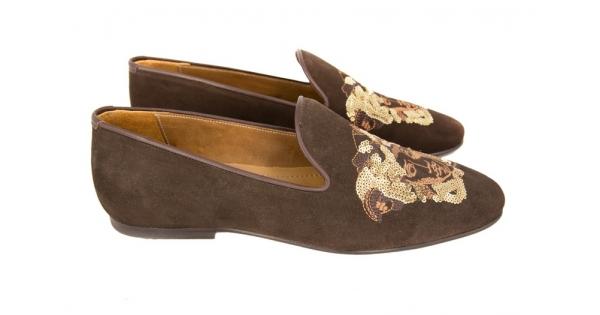 Лоферы Versace Brown I - 19 450 руб.   Купить брендовую обувь ,ботинки,ботильоны,туфли,сапоги,мокасины,кроссовки,кеды.Купить  сумки,рюкзаки,интернет-магазин ... f90474d83d0