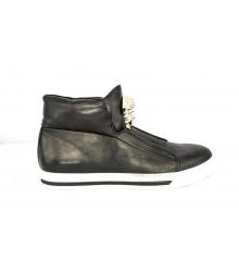 Осенние ботинки Versace (Версаче) New Black
