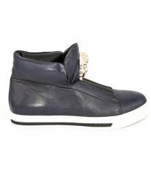 Осенние ботинки Versace (Версаче) New Blue