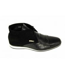 Ботинки мужские Zilli (Зилли) Black