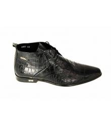 Ботинки Zilli (Зилли) Black/Leather