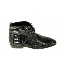 Ботинки мужские Zilli (Зилли) Black/Leather
