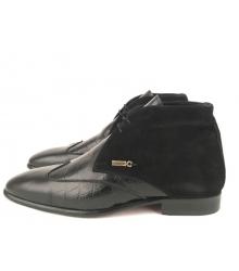 Ботинки зимние Zilli (Зилли) High Black
