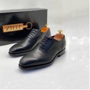 Туфли мужские Zilli (Зилли) оксфорды натуральная кожа Black