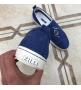 Слипоны мужские Zilli (Зилли) замшевые Blue