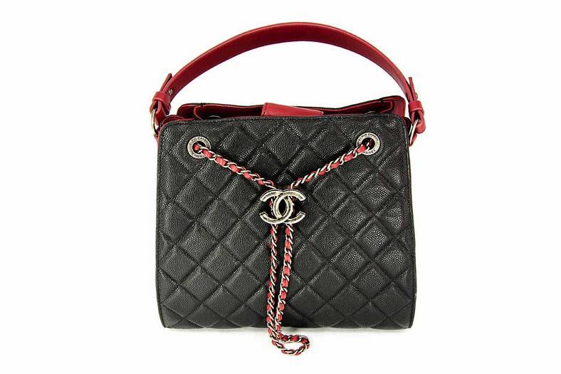 50dafcd06ec9 Женская сумка Chanel (Шанель) Black/Red - 38 950 руб. | Купить ...