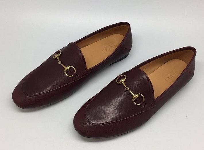 Женские лоферы Gucci (Гуччи) Bordo - 17 450 руб.   Купить брендовую ... 8f9f7878259