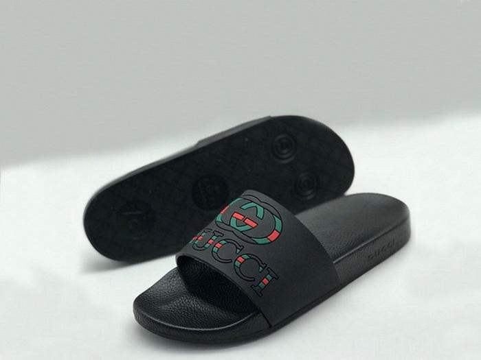 40a2b5cb3 Шлепанцы мужские Gucci (Гуччи) резиновые Black - 9 950 руб.   Купить ...
