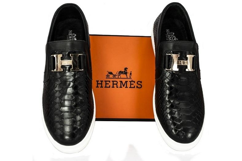 Слипоны мужские Hermes (Гермес) Black Alligator - 10 150 руб ... 51e07b70eab