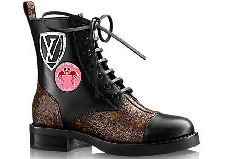 Ботинки женские Louis Vuitton (Луи Виттон) Brown - 14 950 руб ... 7ccfcaf8c81