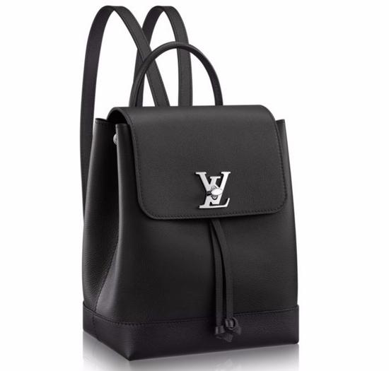 81ec2b8a0b46 Скидки Рюкзак женский Louis Vuitton (Луи Виттон) Lockme Black Быстрый  Просмотр