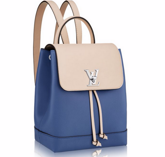 efe13c0d9c64 Рюкзак женский Louis Vuitton (Луи Виттон) Lockme Denim Blue - 22 550 ...
